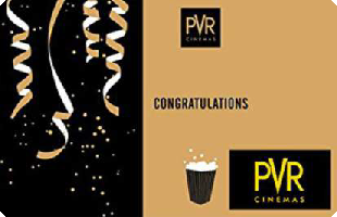 PVR Cinemas eGift Voucher