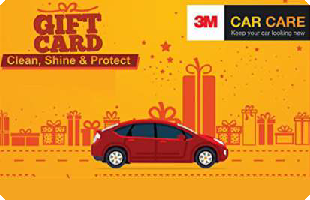 3M Car Care eGift Voucher