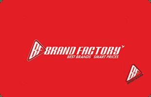 Brand Factory eGift Voucher