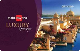 MakeMyTrip Luxury Getaways eGift Voucher