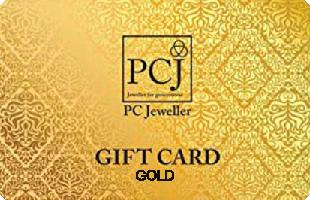 PCJ Gold Jewelllery eGift Voucher
