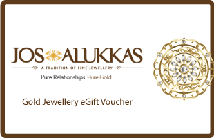 Jos Alukkas Gold Jewellery eGift Voucher